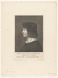 Portrait of artist Lucas van Leyden