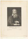 Portrait of artist Maerten de Vos