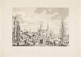 Ruins on the Rapenburg in Leiden after the disaster, 1807