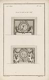 Medallions, horns of plenty and putti