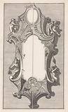 Cartouche with five putti
