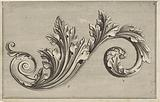 Stylized acanthus leaf