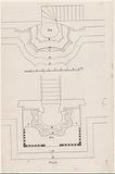 Plans of two pulpit altars