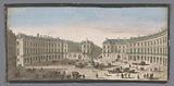 View of the Place des Victoires in Paris
