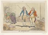 Cartoon on the French Financial Crisis, 1788