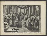Elisha prophesies for the kings of Israel, Judah and Edom