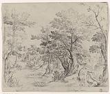 Landscape with Venus mourning the death of Adonis