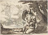 Venus and Adonis in conversation