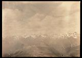 View of snowy mountain peaks