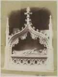 Replica of a medieval tomb by George Myers at the Great Exhibition of the Works of Industry of All Nations of 1851 in …