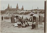 Children on the beach in Zandvoort