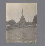 View of a Buddhist shrine, South East Asia