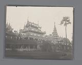 View of a sanctuary, South-East Asia
