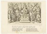 Charles V among his defeated enemies, No 1