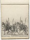Boniface IV Paleologo, Margrave of Monferrato, with the Imperial Scepter and Francesco Maria della Rovere, Duke of …