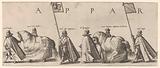 Funeral procession of William of Orange