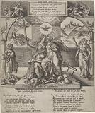 New Year's wish for Archduke Matthias, 1580