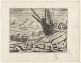 Polar Bear Raids on Loading the Sleds, 1596