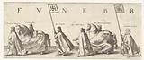 Funeral procession of William of Orange, sheet 5