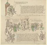 Facsimile of the lunar letters of Count Bernhard van Meurs against Karel van Egmond, Duke of Gelre, 1493