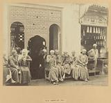 An Arab cafe in Cairo