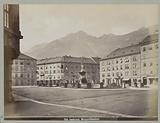 View on Margarethenplatz, Innsbruck