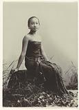 Studio Portrait of a Javanese Woman