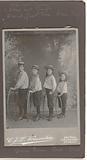 Studio portrait of a number of Vermeulen children in sailor suits
