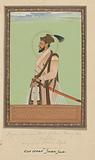 Portrait of Shuja, the son of Shah Jahan, who was born after Dara Shikoh and ruled Bengal during his father's time
