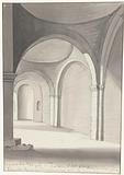 Interior of an antique temple located east of Gallipoli
