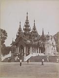 Entrance to the Shwedagon pagoda, Yangon