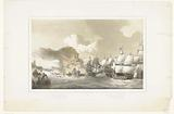 Spanish fleet defeated in the sea battle at Duins, 1639