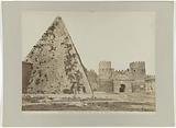 Pyramid of Gaius Cestius at the Porta San Paolo, Rome