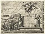 Siege of Breda (bottom right corner), 1637