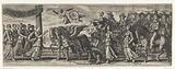 Allegorical triumphal chariot of twelve-year-old William III, 1663
