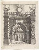 Triumphal Gate erected by the Bishop of Antwerp for the Cathedral of Our Lady, 1685