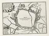 Map of Mons, 1693