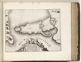 Map of Siracusa, c 1695