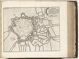 Floor plan of Saint-Omer, c 1693–1696