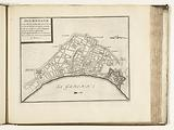 Map of Bordeaux, 1726