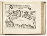Map of the natural harbor of Puerto de Pasajes, 1726