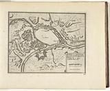 Map of Namur, 1726