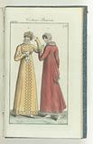 Journal des Dames et des Modes, edition Frankfurt 25 décembre 1808, Costume Parisien