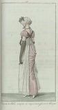 Elegantia, or magazine of fashion, luxury and taste for women, August 1807, no. 19: Chapeau de Paille coupée….