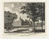 View of the front and side of Honselaarsdijk Palace