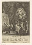 Portrait of the painter David Beck