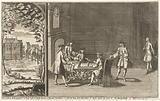 Cartoon on the Dutch and Zeelandic Nobles Contesting Prince William IV's Marquisate of Veere and Vlissingen, c 1733