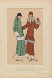 Très Parisien, 1923, No 10: 8.- SPORTIVES. – Deux tailleurs….