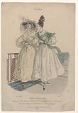 La Mode, 1830. 53, T 3: Toilette de Bal du matin (…).