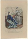 Courrier de la Mode, 1857, No 989, no. 1: Costumes des Grands Magasins de la Paix.